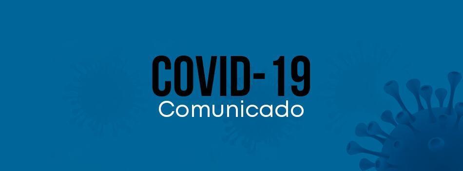 Comunicado – COVID-19